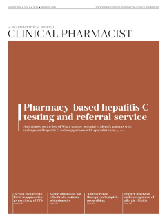 Integrating Community Pharmacy Testing for Hepatitis C with Specialist Care